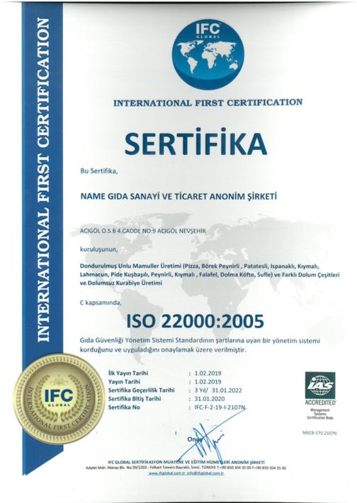İso sertifika 2